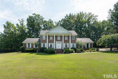 Apex Single Family Home Pending: 1105 Kelly Road