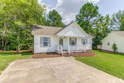 Clayton Single Family Home For Sale: 629 Agincourt Place