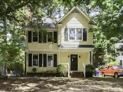 Raleigh Single Family Home For Sale: 4701 Dillingham Court