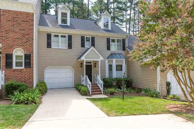 Raleigh Townhouse For Sale: 7802 Coach House Lane