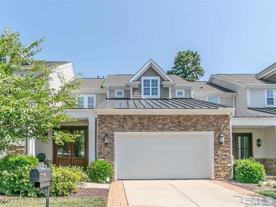 Raleigh Townhouse For Sale: 12515 Bellstone Lane