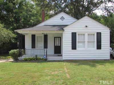 Raleigh NC Single Family Home For Sale: $249,900