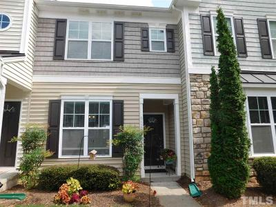 Raleigh Townhouse For Sale: 6628 Clarksburg Place