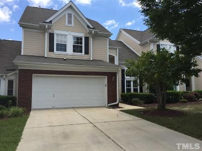 Cary Townhouse For Sale: 102 White Lake Court