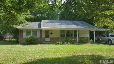 Cary Single Family Home For Sale: 205 Gray Street