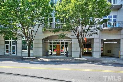 Wake County Condo For Sale: 317 W Morgan Street #513
