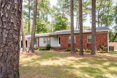 Wake County Single Family Home For Sale: 1213 Brown Straw Drive