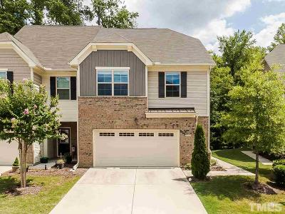 Cary Townhouse For Sale: 1117 Contessa Drive