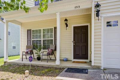 Durham Single Family Home For Sale: 1713 Medallion Drive