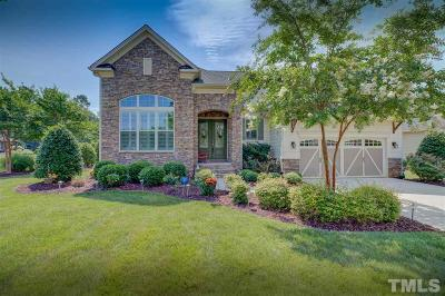 Wake Forest Single Family Home For Sale: 1764 Hasentree Villa Lane