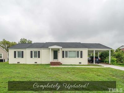 Nash County Single Family Home For Sale: 306 N Oak Street
