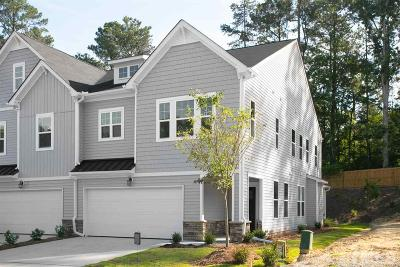 Cary Townhouse For Sale: 273 Vista Creek Place