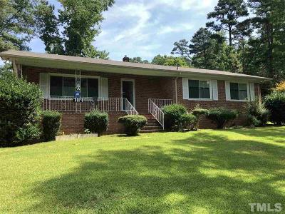 Bahama Single Family Home For Sale: 7119 Old Oxford Highway