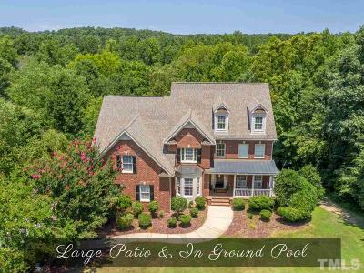 Wake Forest Single Family Home For Sale: 3413 Song Sparrow Drive