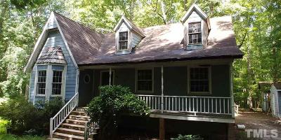 Raleigh Single Family Home For Sale: 10017 Sycamore Road