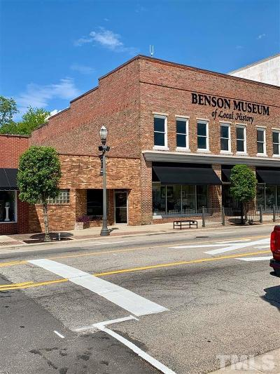 Johnston County Commercial For Sale: 106 W Main Street