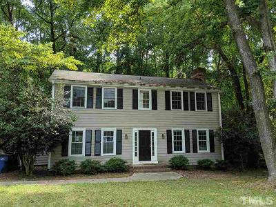 Raleigh Single Family Home For Sale: 3813 Colgate Place