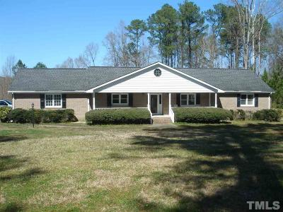 Louisburg Single Family Home For Sale: 700 Dyking Road