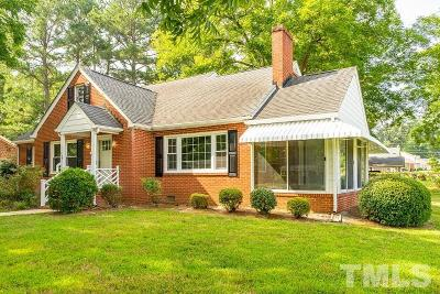 Oxford Single Family Home For Sale: 800 Williamsboro Street