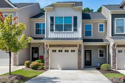 Holly Springs NC Townhouse For Sale: $240,000