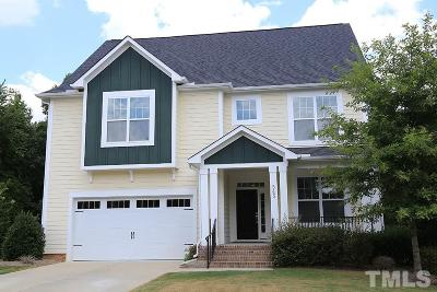 Chapel Hill Single Family Home For Sale: 543 Dairy Glen Road