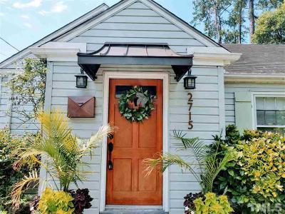 Single Family Home For Sale: 2715 Gordon Street