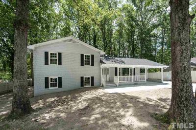 Raleigh Single Family Home For Sale: 5201 Sedgefield Drive