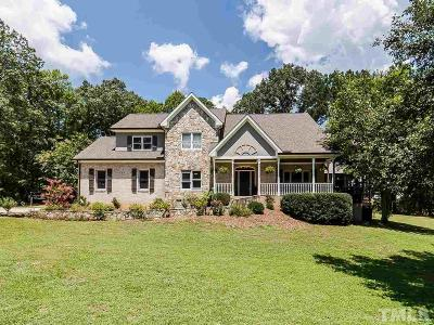 Apex Single Family Home Contingent: 409 Luther Road