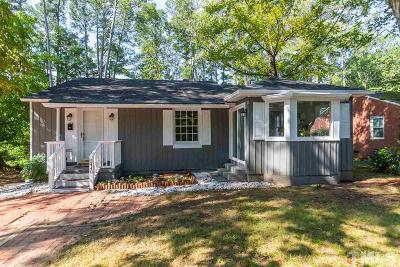 Raleigh Single Family Home For Sale: 2440 Derby Drive