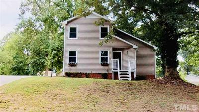 Sanford NC Single Family Home For Sale: $145,000