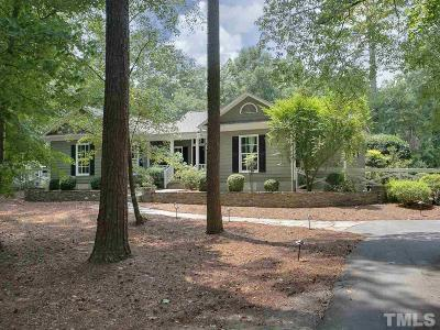 Chapel Hill Single Family Home Contingent: 4 Kendall Drive