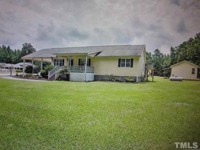 Harnett County Single Family Home For Sale: 2850 Titan Roberts Road