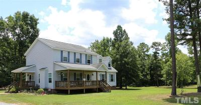 Pittsboro Single Family Home For Sale: 720 Marshall Road