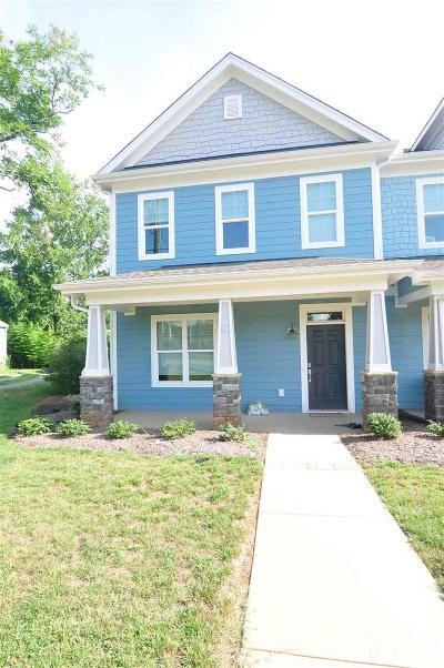 Chatham County Rental For Rent: 858 Thompson Street #C