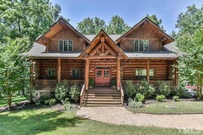 Pittsboro NC Single Family Home For Sale: $895,000