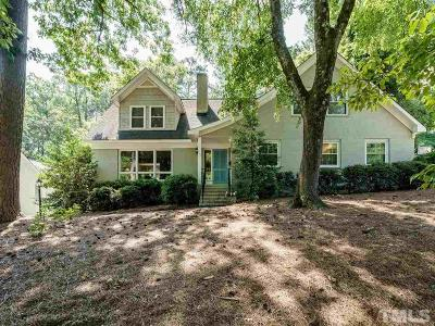 Raleigh Single Family Home For Sale: 2428 Oxford Road