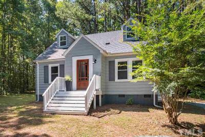 Chapel Hill Single Family Home For Sale: 2102 Gemena Road