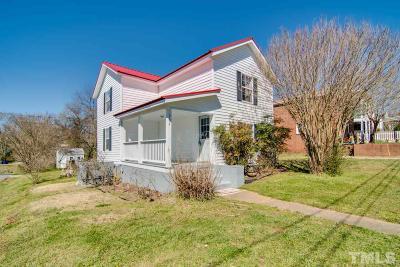 Hillsborough Single Family Home For Sale: 304 Jones Avenue