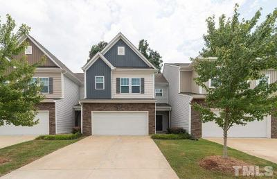 Cary Townhouse For Sale: 724 Ennis Creek Lane