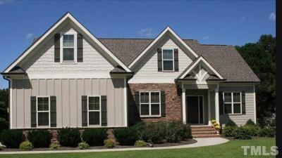 Granville County Single Family Home For Sale: 3853 Ironwood Drive
