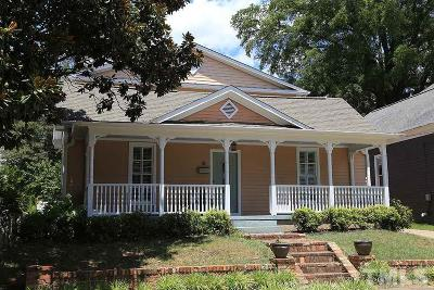 Raleigh Single Family Home For Sale: 708 Hinsdale Street