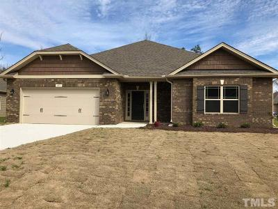 Lillington Single Family Home For Sale: 272 Woodwater Circle