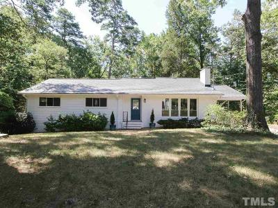 Chapel Hill Single Family Home Contingent: 108 Cherokee Circle