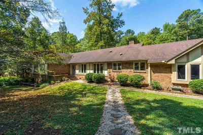 Raleigh Single Family Home Contingent: 8704 Trailing Cedar Court