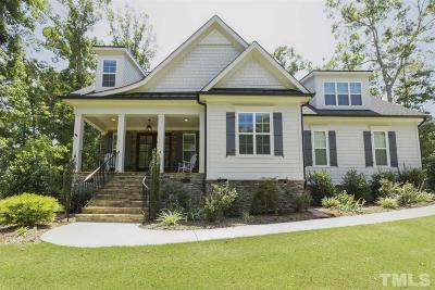 Fuquay Varina Single Family Home For Sale: 5101 Shirland Road