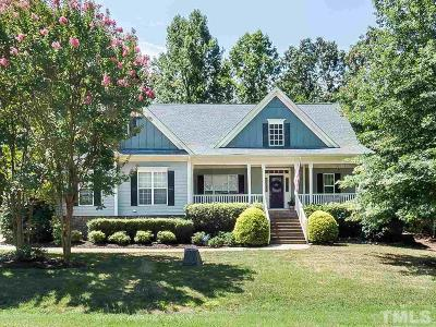 Fuquay Varina Single Family Home For Sale: 206 Merestone Circle