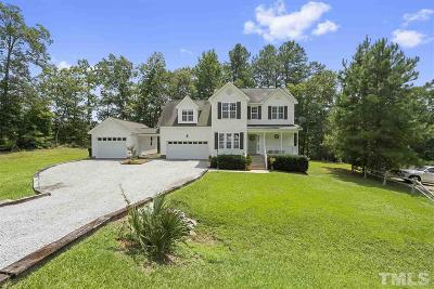Angier Single Family Home Contingent: 503 Cabin Grove Court