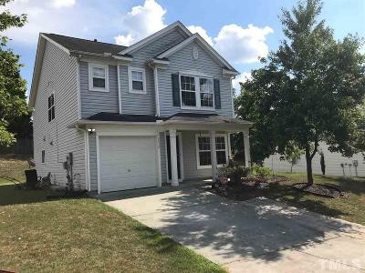 Durham Single Family Home For Sale: 3610 Turquoise Drive