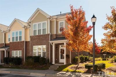 Cary NC Townhouse Contingent: $218,000