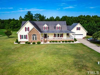 Johnston County Single Family Home For Sale: 5335 Antioch Church Road